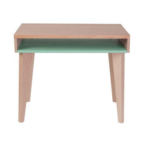 bureau enfant vert bureau d 233 colier en bois menthe