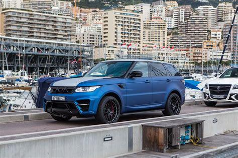 Larte Designs Range Rover Sport Winner Edition Has A 400