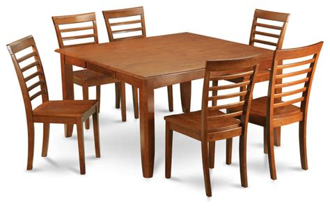 dining room sets with leaf 7 formal dining room set square dining table with