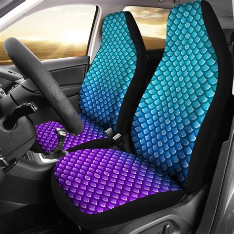 mermaid scales car seat cover reviews
