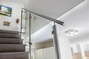 Rampe D Escalier Moderne : rambarde et rampe d 39 escalier en inox sur mesure ~ Melissatoandfro.com Idées de Décoration