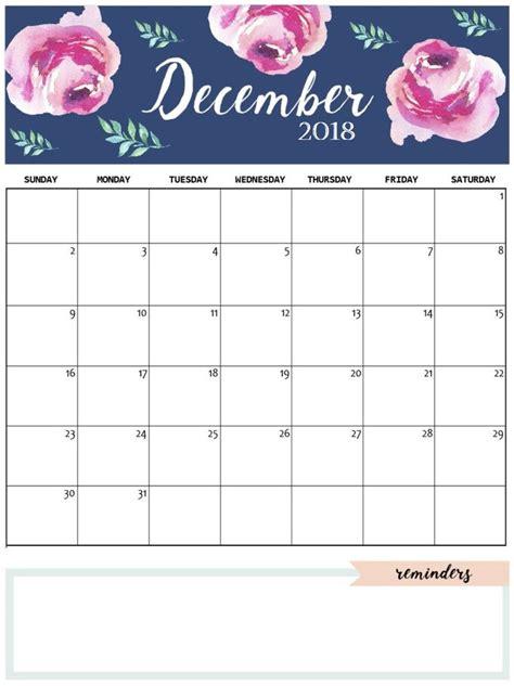 cute december  calendar template  calendar