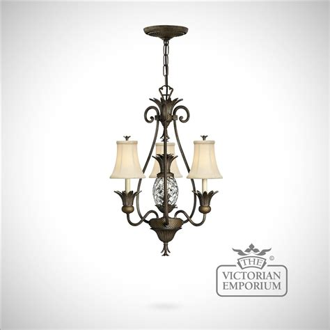 Fashioned Chandelier by Plantation Style 3 Light Chandelier The Emporium