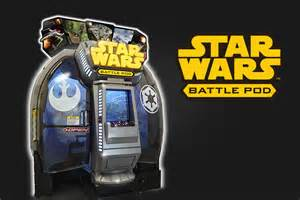 Dave and Busters Game Star Wars