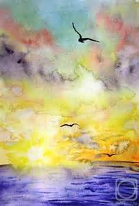 Watercolor Painting Freedom