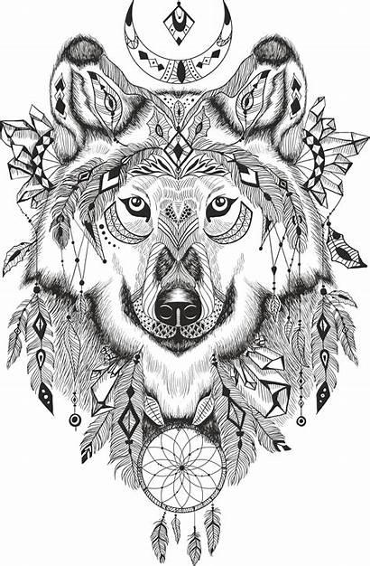 Wolf Dreamcatcher 3axis