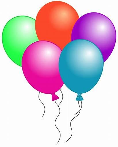 Balloon Clip Clipart Birthday 1944 Clipartion