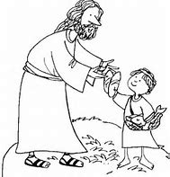 HD wallpapers coloring page of jesus feeding 5000 wallpaper ...