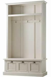 Shutter Locker Storage - Hall Trees - Entryway - Furniture