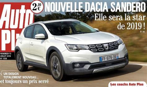 Nouvelle Dacia 2019 by Dacia Sandero 2019 Primele Imagini Ale Noii Generații