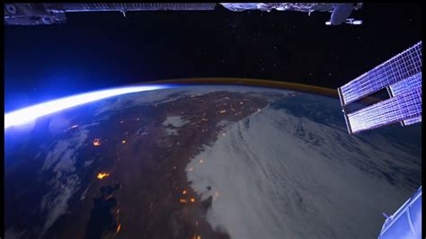earth  space space   hours  amazing video