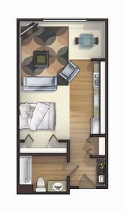 25 best ideas about studio apartment layout on pinterest With single bedroom apartments a studio with functional purposes