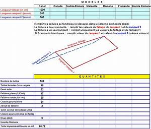 tuile, toiture : calcul nombre de tuiles utiles pour votre toiture