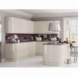35 best cream gloss kitchens images on pinterest cream for Best brand of paint for kitchen cabinets with noel wall art