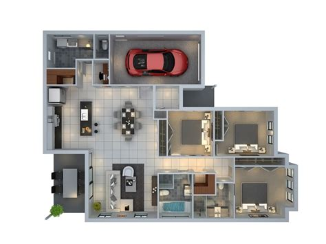 family room floor plans 50 three 3 bedroom apartment house plans architecture