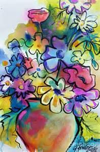 Flower Pop Art Paintings