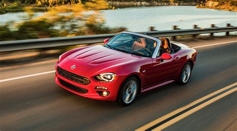 2018 Fiat 124 Spider Gets A New Red Top Edition The