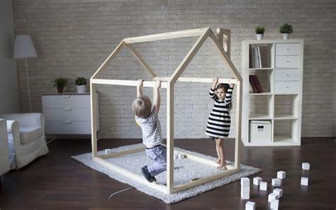 fabriquer une chambre en fabriquer un lit cabane pour les petits loulous