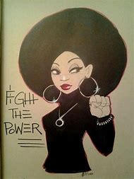 Black Power Women Art
