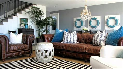 Brown Leather Sectional Living Room Ideas by Apartments Amazing Living Room Design Feat Theme