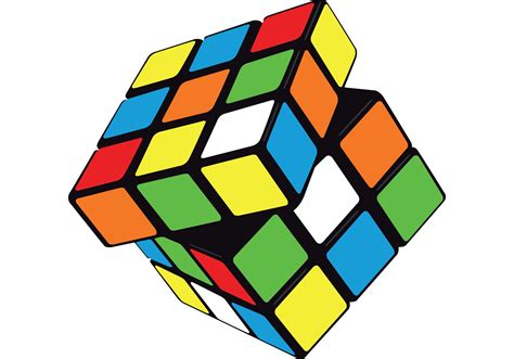 Vector Rubik's Cube  Download Free Vector Art, Stock