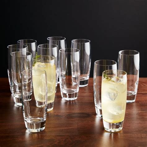 otis tall drink glasses set   reviews crate