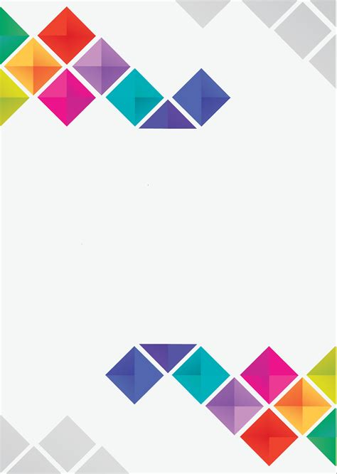 Abstract Geometric Color Pattern Posters Abstract