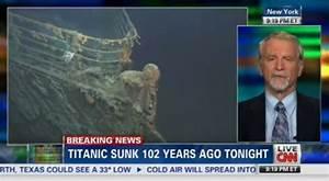 CNN 'Breaking News' For Titanic Sinking - Business Insider