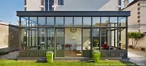 Prix Veranda Alu : v randa alu toit plat verri re pinterest verandas glass room and room ~ Melissatoandfro.com Idées de Décoration