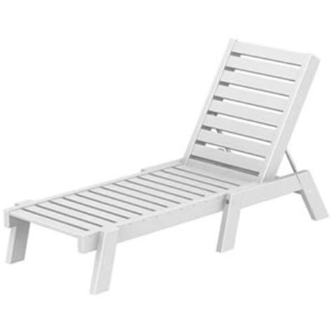 pool furniture supply chaise lounge recycled plastic polywood captain