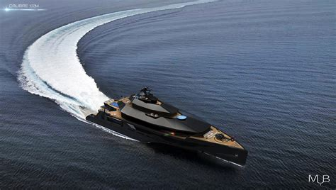 calibre concept superyacht  designed  reach