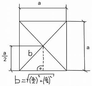 Quadratische Pyramide A Berechnen : quadratische pyramide seitenkante s und h he hs berechnen ~ Themetempest.com Abrechnung