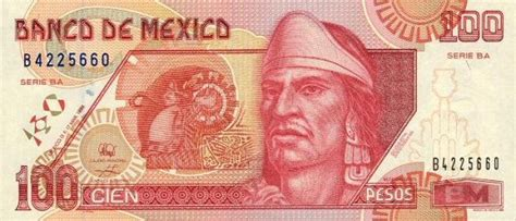 Mexican Currency Bills & Coins
