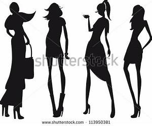 Stock Images similar to ID 154557047 - fashion silhouette ...