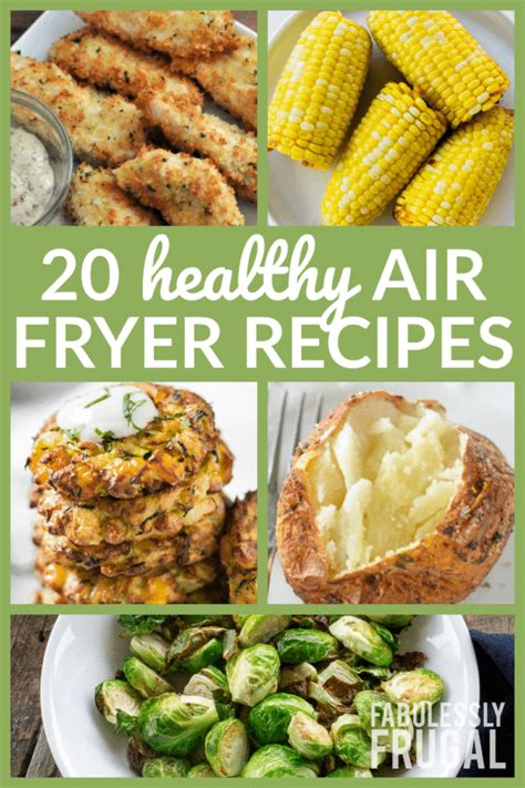 fryer air healthy recipes recipe easy meals cooking dishes snacks beginners dinner side