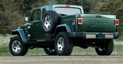 jeep   pickup truck  heres
