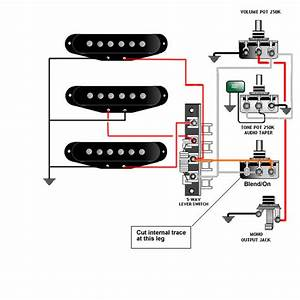 Dimarzio Pick Up Wiring Schematics