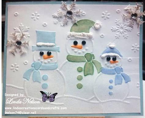 christmas darice snowman trio  lnelson