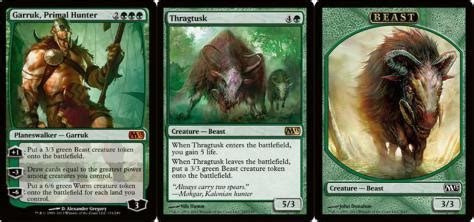 Green White Token Deck M15 by M15 New Thragtusk In M15 Speculation The Rumor