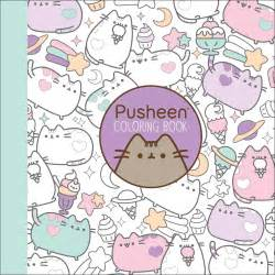 pusheen the cat book pusheen coloring book book by belton official