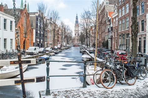 Siberian Winter In Amsterdam The Frozen City In 13 Photos