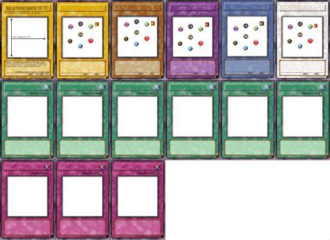 yugioh card template  pyruvate  deviantart
