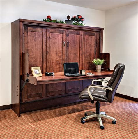 murphy bed office desk combo wall bed desk combo