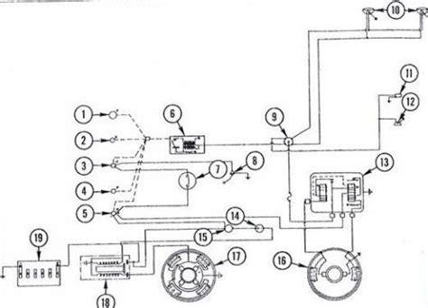 massey ferguson  tractor wiring diagram diesel system