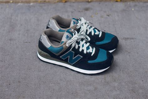 New Balance 574  Navy  Slate Blue  Sole Collector