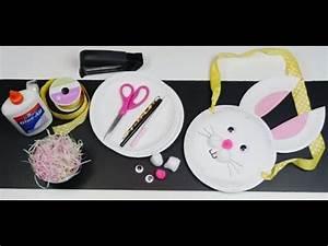 Panier Oeufs De Paques : panier oeufs de p ques en assiette en carton hellokids youtube ~ Melissatoandfro.com Idées de Décoration