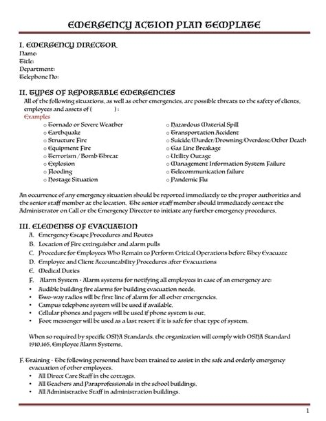 safety plan template   documents