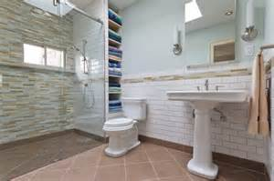 barrier free bathroom design barrier free shower stall traditional bathroom new york by green mountain construction