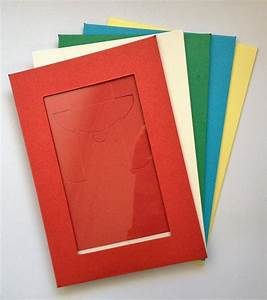 Coloured cardboard frames, ready to decorate to enhance
