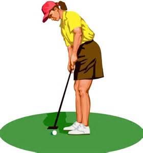 Ladies Golf Clip Art Free